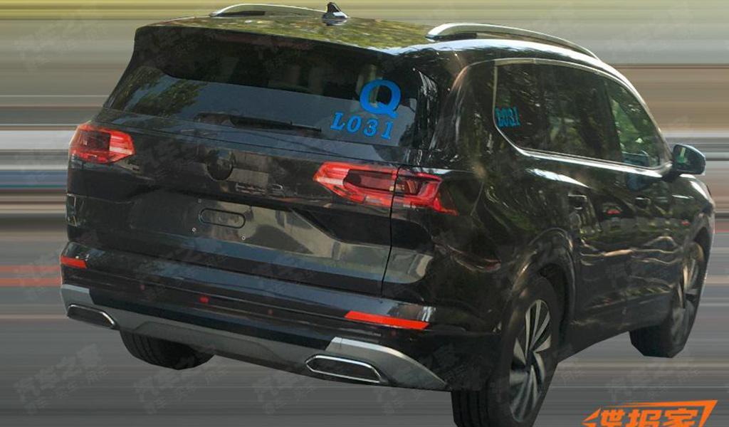 Самый большой кроссовер Volkswagen появился на фото