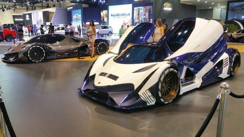 Эксперты назвали топ-3 самых быстрых авто, представленных в Дубае