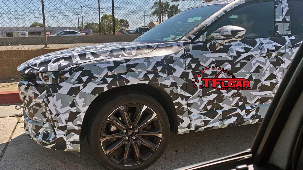 Mazda вывела на тестовые испытания новый кроссовер Mazda CX-5