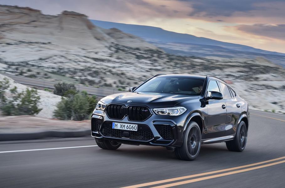 Представлены «заряженные» кроссоверы BMW X5 M и BMW X6 M