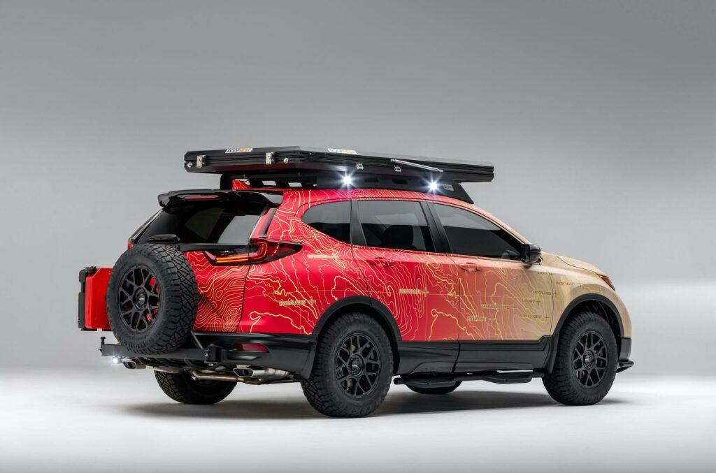 Honda CR-V получил новую модификацию CR-V Dream