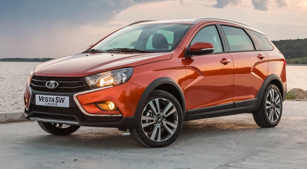 Почти 2 тыс. универсалов Lada Vesta SW продал АвтоВАЗ в ноябре