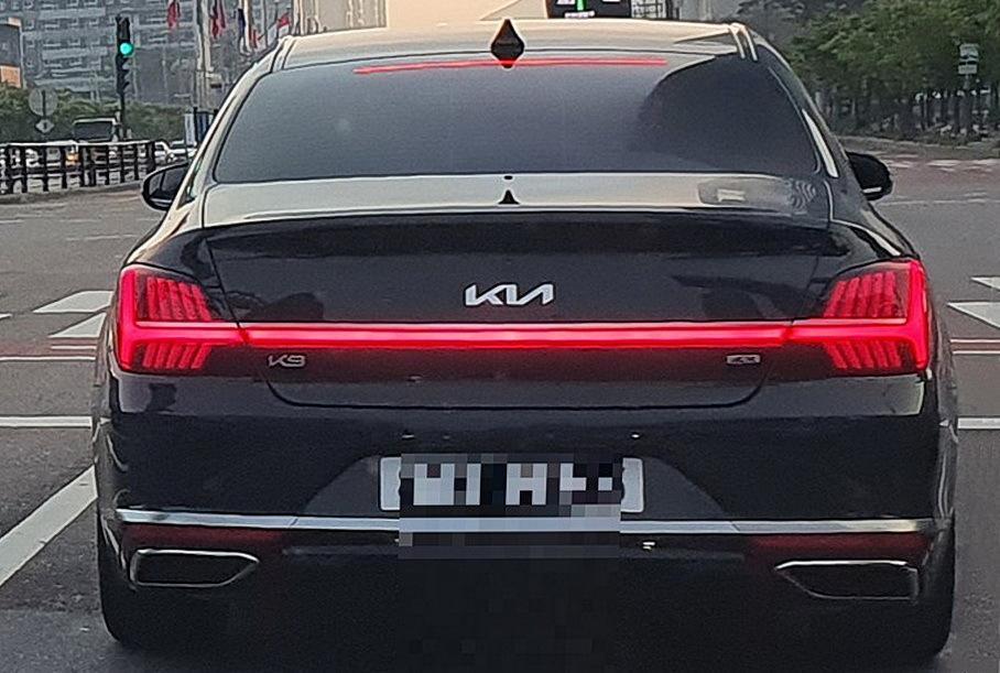 Kia тестирует конкурента BMW 7-Series в лице обновленного седана Kia К9