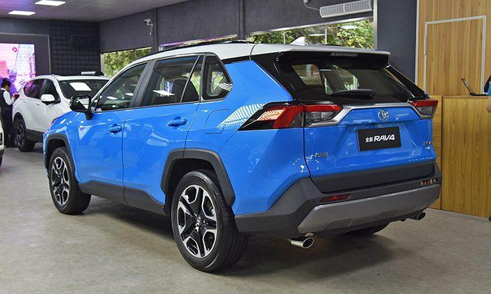 Toyota показала еще одну версию Toyota RAV4 нового поколения