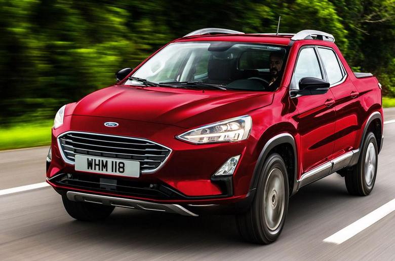 Ford подтвердил слухи о разработке пикапа на базе модели Focus