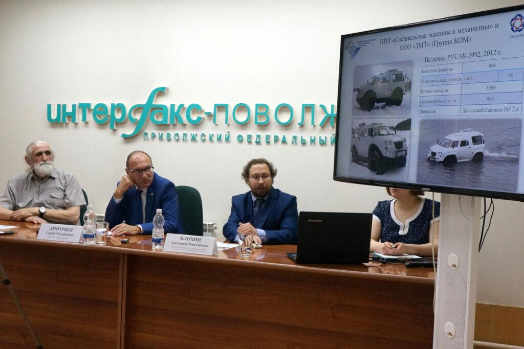 В Нижнем Новгороде создано новое поколение вездехода «Русак-3993»