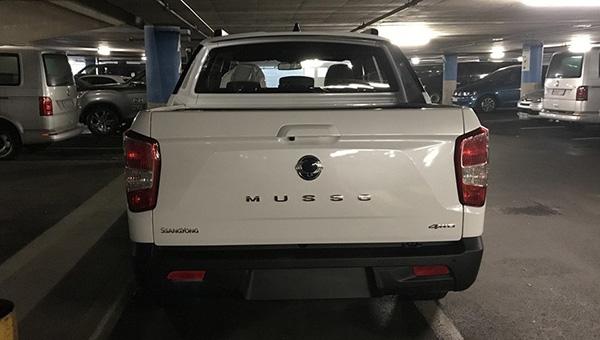 SsangYong в Женеву привезла новое поколение пикапа Musso