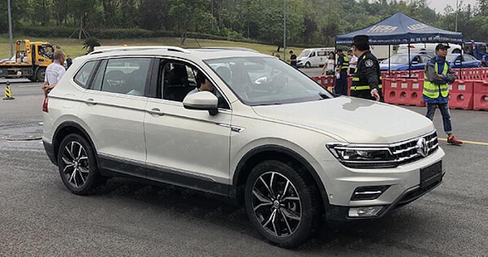 Трёхрядный кроссовер Volkswagen Tiguan L представлен в Китае