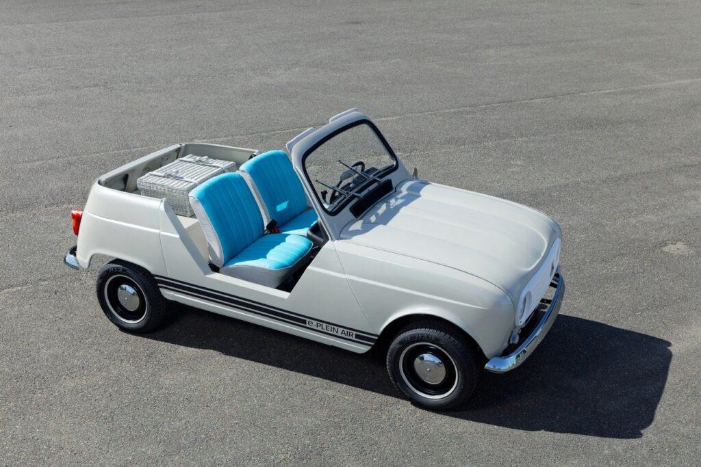 Renault возродил редкий пляжный кабриолет Renault 4