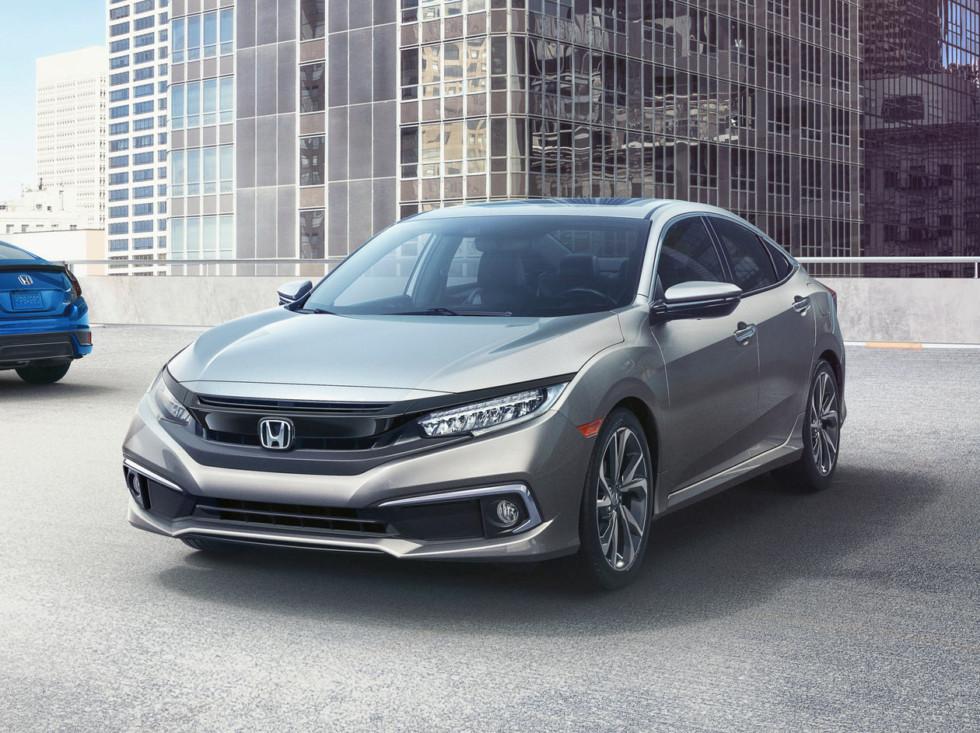 Обновленный Honda Civic 2019 модельного года получил версию Civic Sport