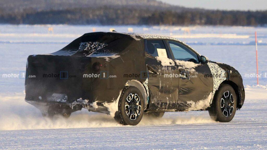Новый пикап Hyundai Santa Cruz замечен во время тестов