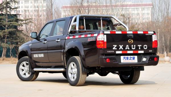 Китайцы обновили «пиратскую копию» пикапа Toyota Hilux