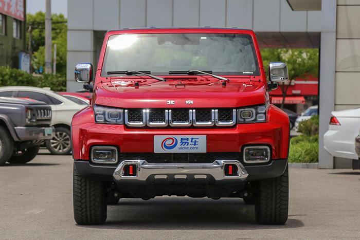 BAIC выпустил внедорожник Beijing BJ40 Plus с экстерьером Jeep Wrangler