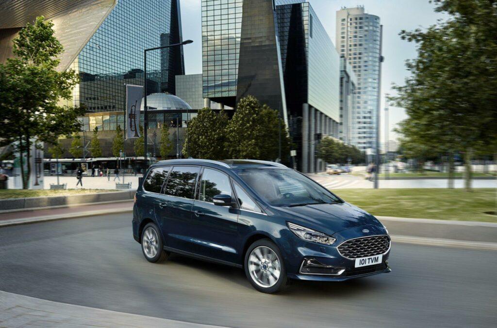 Ford показал обновленные минивэны Ford Galaxy и S-Max