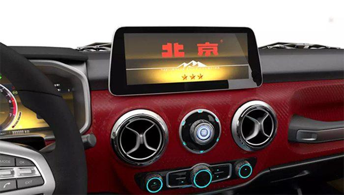 Китайский клон Jeep Wrangler получил роскошную версию
