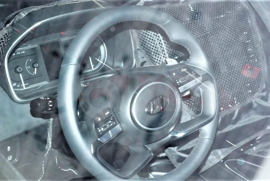 Появились первые фотографии салона нового Hyundai Tucson