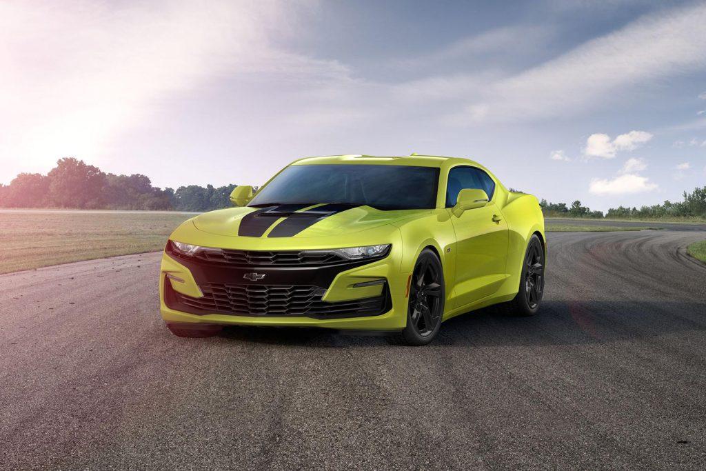 Chevrolet может выпустить электрическую версию Camaro