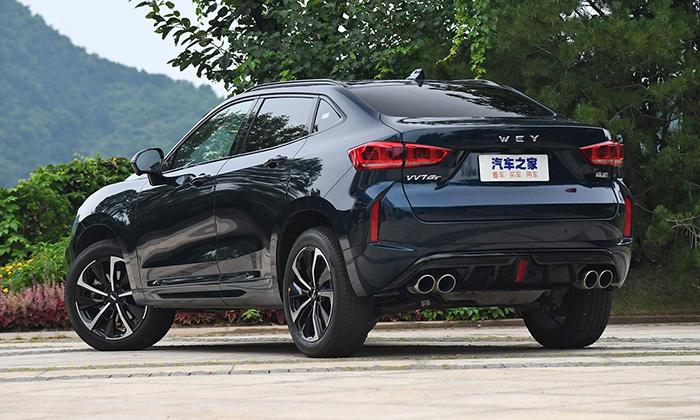 Great Wall вывела на рынок роскошный купе-кроссовер WEY VV7 GT