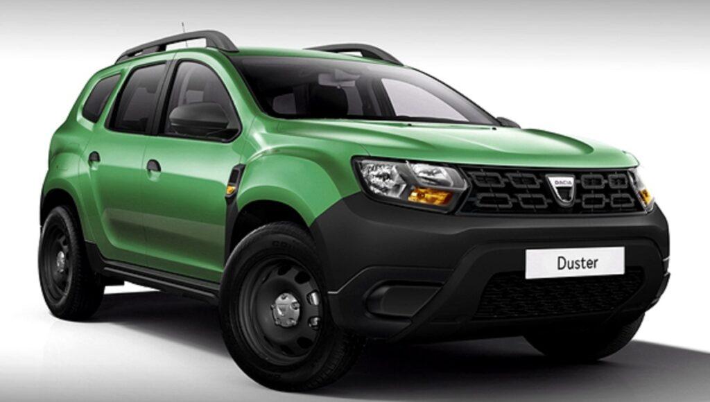 Дизайнеры показали новый Renault Duster в базовой комплектации