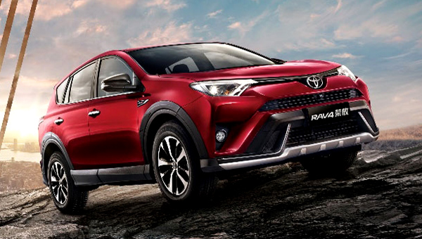 Обновленный внедорожный кроссовер Toyota RAV4 прибавил в габаритах