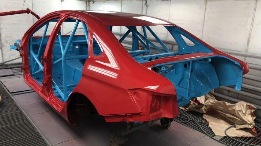 Компания Clubturbo разработает новую версию Lada Vesta для дрифта