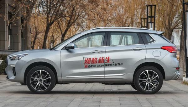 Продажи обновленного кроссовера Haval H6 Coupe начала Great Wall