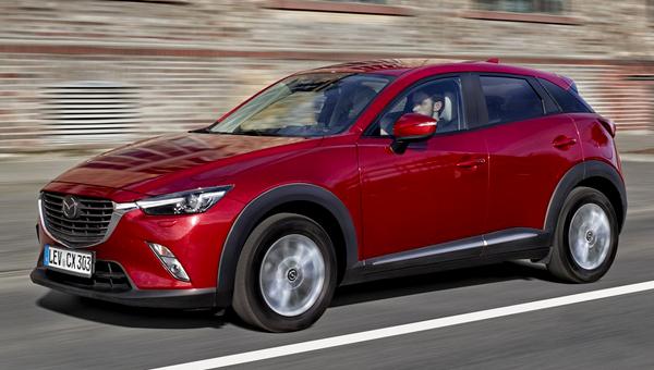 Кроссовер Mazda CX-3 едет покорять новый рынок