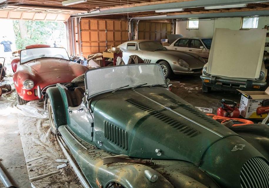 В США в заброшенном гараже нашли Ferrari и Shelby за 8 млн. долларов