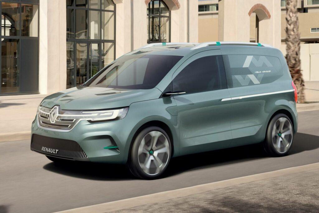 Renault презентовал новый электрический фургон Kangoo