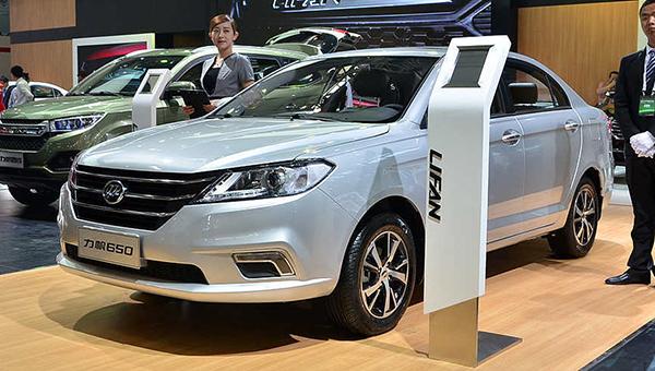 Lifan представит Lifan Solano нового поколения на автосалоне в Пекине