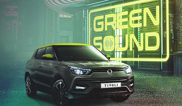 SsangYong выпустил лимитированный кроссовер Tivoli Green Sound