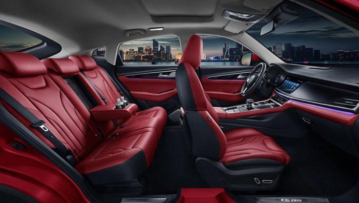 Changan показал интерьер нового купе-кроссовера Changan CS85