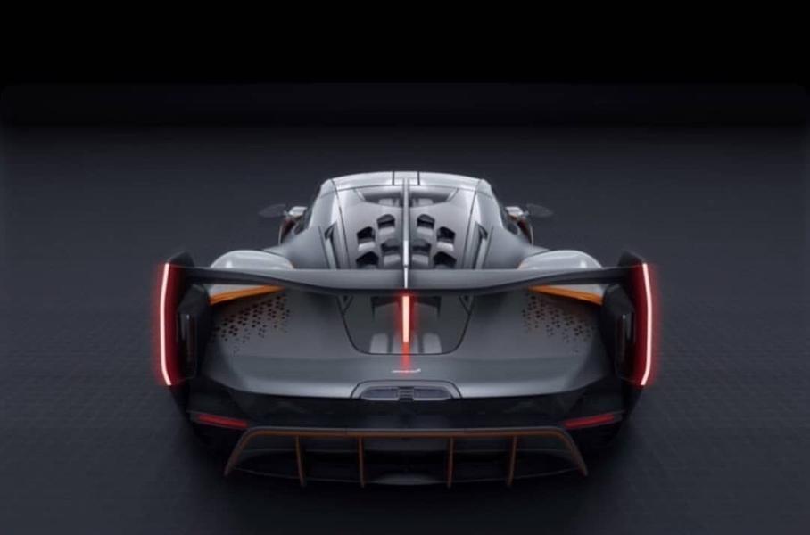 Опубликованы первые изображения нового супергибрида McLaren