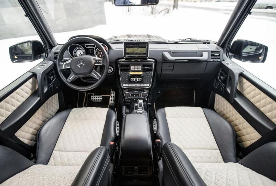 В России снова продается модель Mercedes-AMG G 65 - Brabus B 800