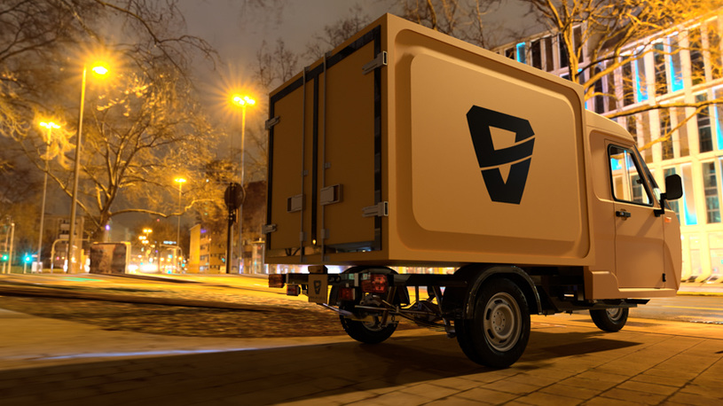 В России создали сверхдешевый трехколесный грузовик