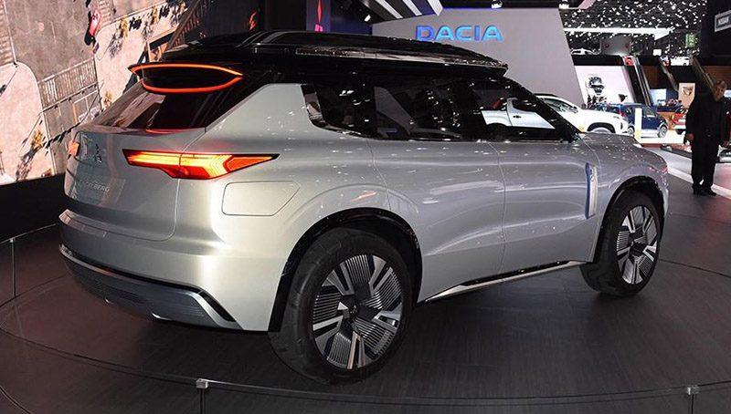 Mitsubishi готовится к презентации преемника Outlander в Шанхае