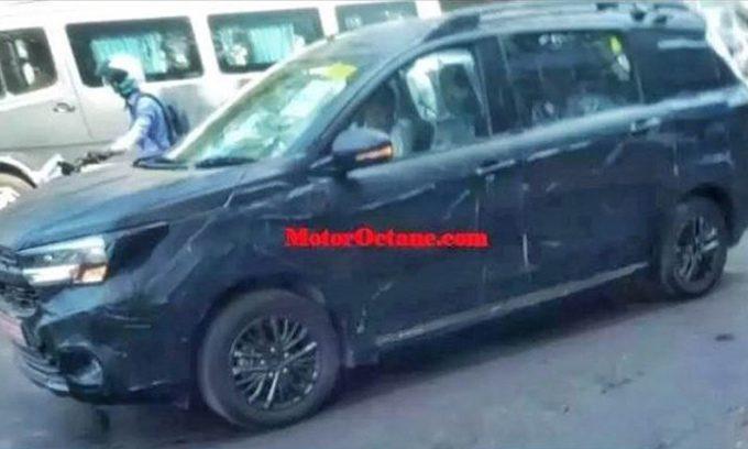 Обновленный Suzuki XL6 рассекретили до премьеры