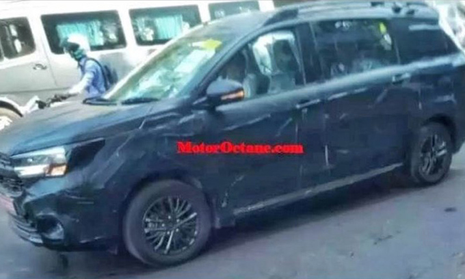 Внедорожная версия Suzuki Ertiga Cross выйдет в продажу в августе
