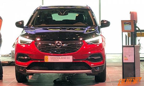 Opel привез во Франкфурт новую модификацию Grandland X