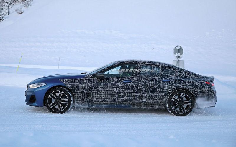 Самое дорогое купе BMW 8 Series Gran Coupe показали на шпионских фото