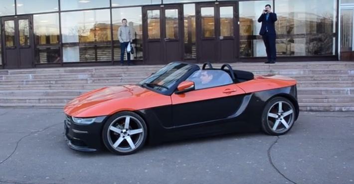 В РФ представлен прототип российского родстера «Крым»