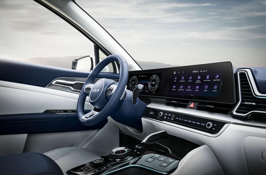 Kia представила кроссовер Kia Sportage следующего поколения