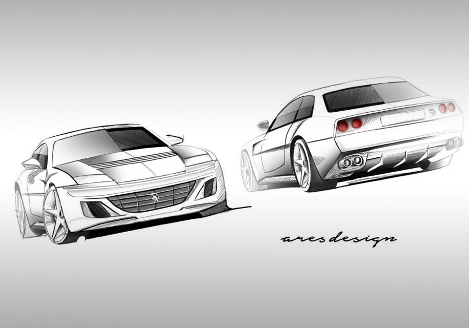 Суперкар в стилистике классических Ferrari представит экс-глава Lotus
