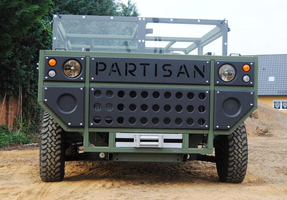 Partisan Motors представила внедорожник One с гарантией 100 лет