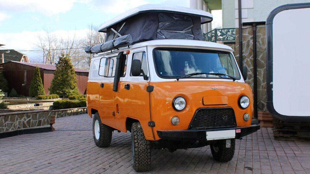 УАЗ представил дом на колёсах на базе УАЗ «Буханки»