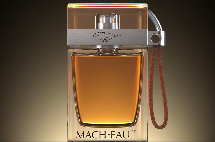 Ford выпустил парфюм с ароматом бензина для владельцев Mustang Mach-E