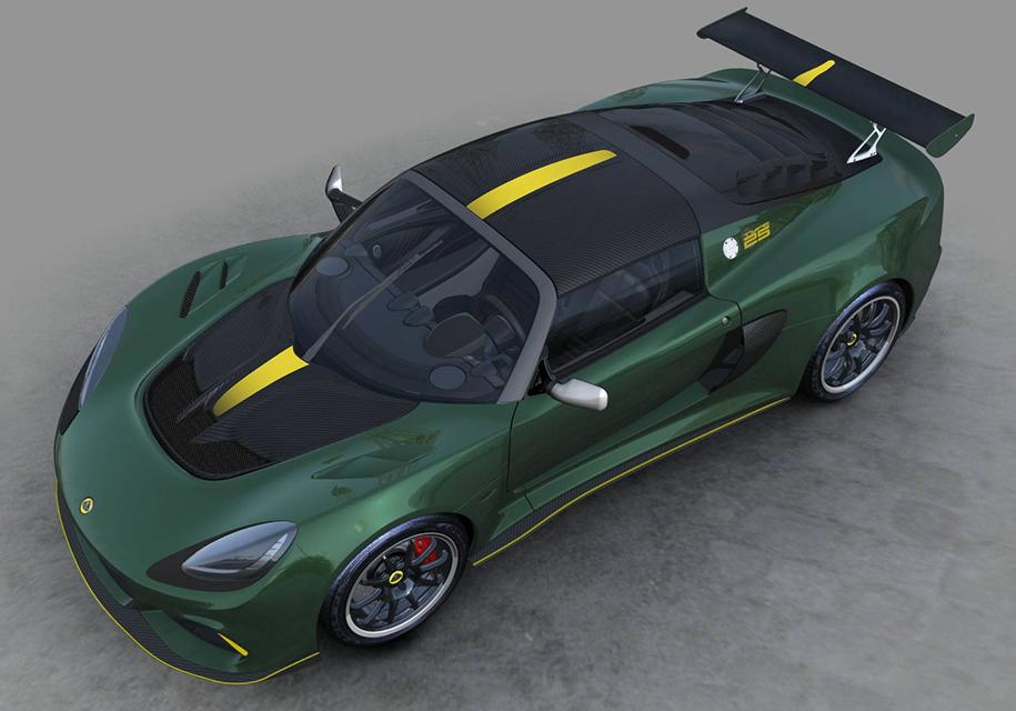 Lotus представил особый спорткар Cup 430 Type 25 для коллекционеров