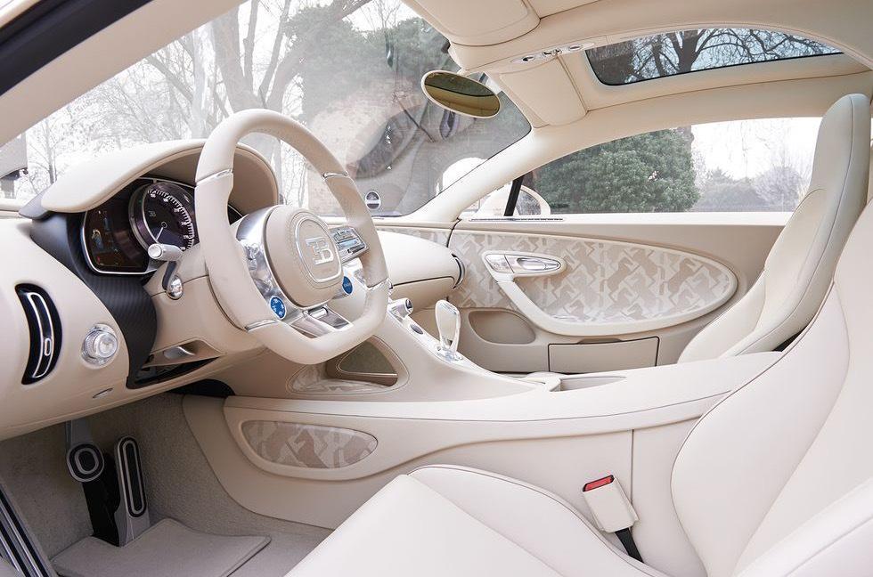 Bugatti Chiron получил спецверсию в единственном экземпляре