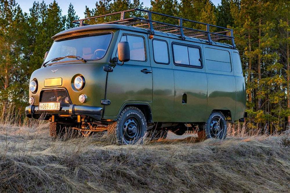 УАЗ назвал стоимость новой версии УАЗ «Буханки»