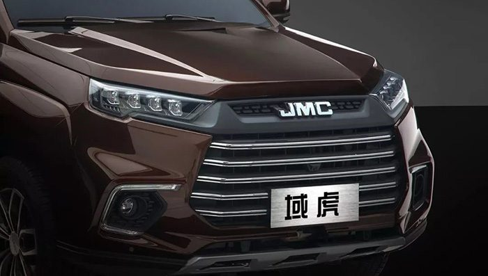 Новый пикап Tiger 9 от JMC официально рассекретили до дебюта